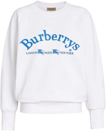 archive logo sweatshirt