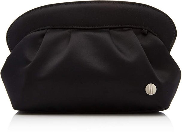 Hayward Silk Satin Evening Clutch
