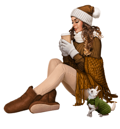 tubes femmes hiver winter sexy girl girly personnage dessin