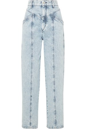 Isabel Marant | Lenia high-rise straight-leg jeans | NET-A-PORTER.COM