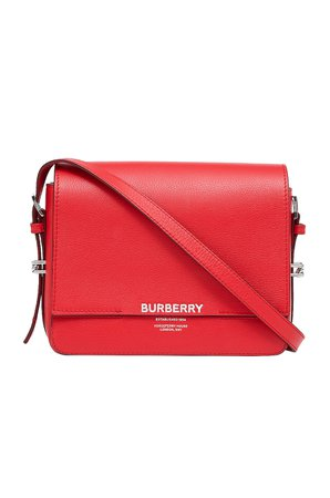 Burberry Small Horseferry Crossbody Bag in Bright Military Red | FWRD