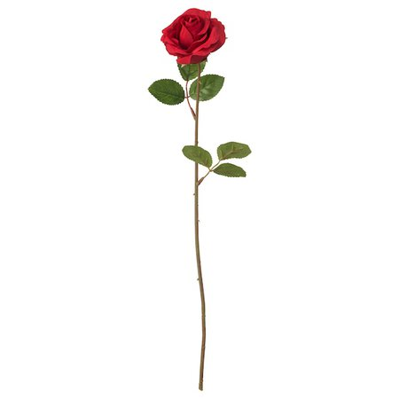 SMYCKA Artificial flower - Rose, red - IKEA