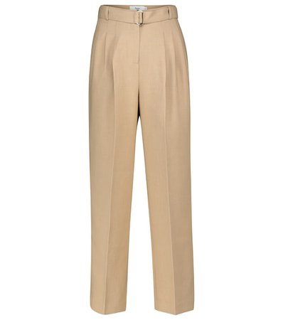 Frankie Shop - Belted straight pants