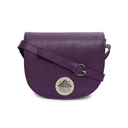 Fashiontage - Purple Crossbody Bag