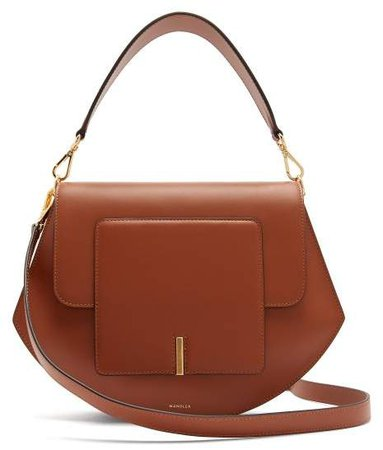 Wandler - Al Leather Cross Body Bag - Womens - Tan