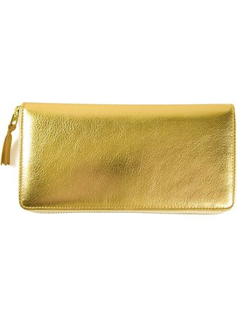 Metallic Comme Des Garçons Wallet 'Gold' wallet SA0110G - Farfetch