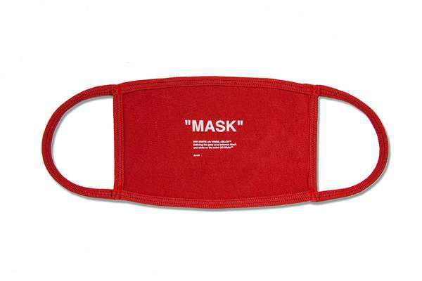 Off-White c/o Virgil Abloh Off Mask - Red/White – Feature Sneaker Boutique