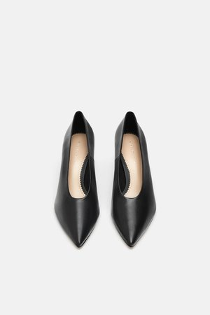 SOFT LEATHER COURT SHOES - View all-WOMAN-SHOES | ZARA United Kingdom