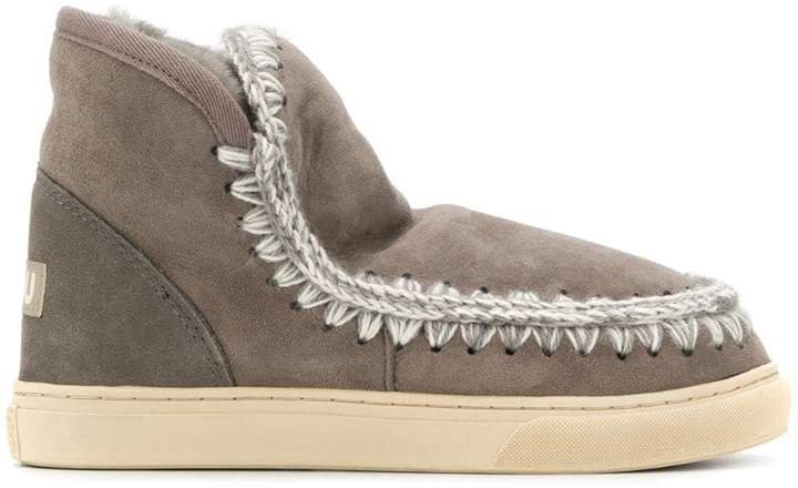 lined interior ankle boots