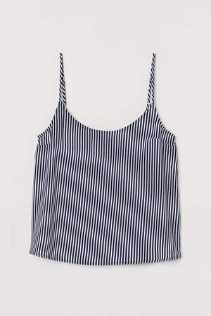 Viscose Tank Top - Blue