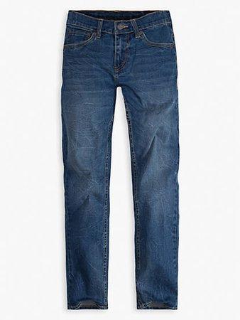 Big Boys 8-20 502™ Taper Fit Jeans (husky) - Dark Wash   Levi's® US