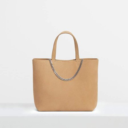 Micro Tote in Suede