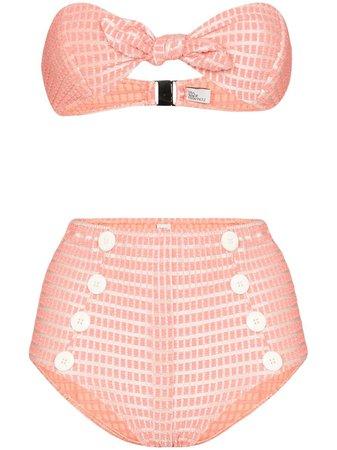 Lisa Marie Fernandez Poppy Bandeau Bikini - Farfetch