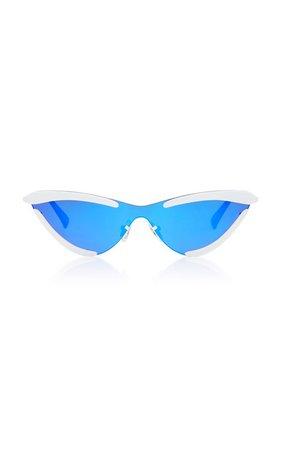 The Scandal Cat-Eye Sunglasses by Adam Selman X Le Specs | Moda Operandi