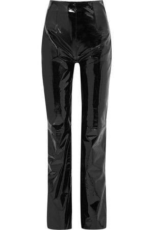 16ARLINGTON | Patent-leather straight-leg pants | NET-A-PORTER.COM
