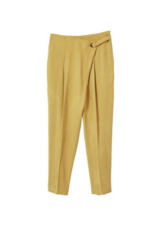 MANGO Wrapped baggy trousers