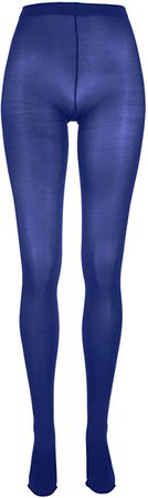 HUE Women's Opaque Non-Control Top Tights Size 1 Blue Print at Amazon Women's Clothing store: