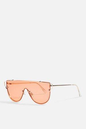Red Pink Orange Sunglasses   Bags & Accessories   Topshop