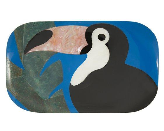 KIKI Toucan Minaudière, Blue — RAFE New York