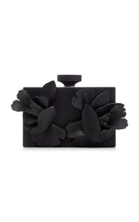 Floral Matte Resin Clutch by Oscar de la Renta | Moda Operandi