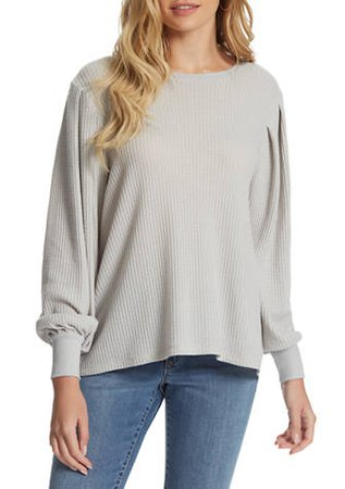 Jessica Simpson Wilder Waffle Knit Top