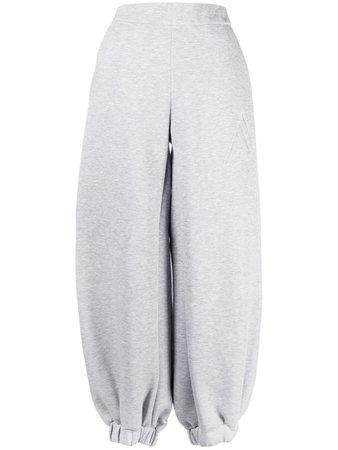 The Attico Oversized Cuffed Track Pants - Farfetch