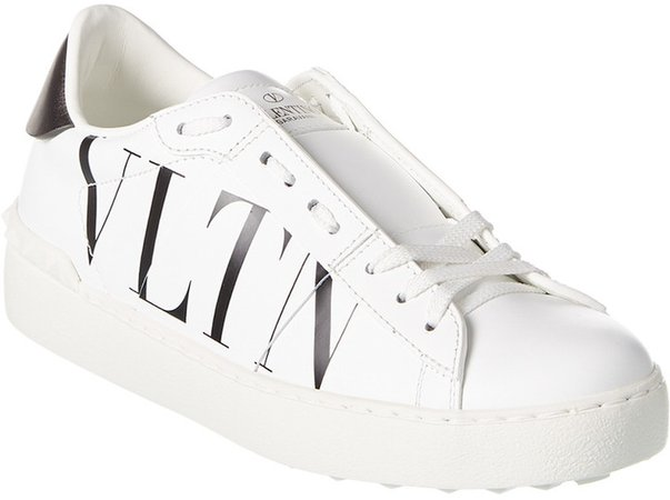 Vltn Open Leather Sneaker