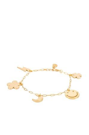 Cloverpost Range Bracelet in Yellow Gold | REVOLVE
