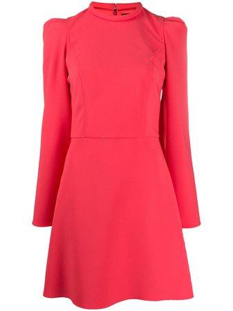 Elisabetta Franchi Puff Sleeve Mini Dress - Farfetch