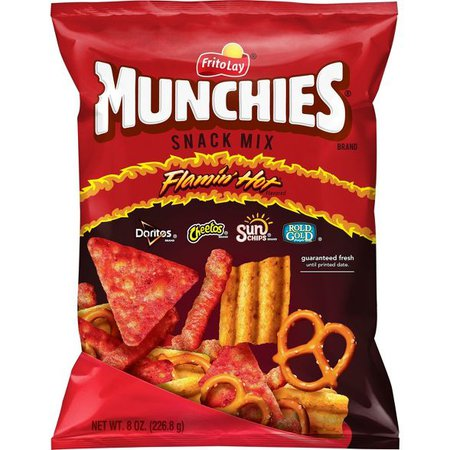 Munchies Flamin' Hot Flavored Snack Mix - 8oz : Target