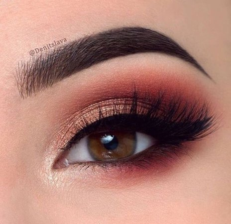 red eye shadow - Google Search