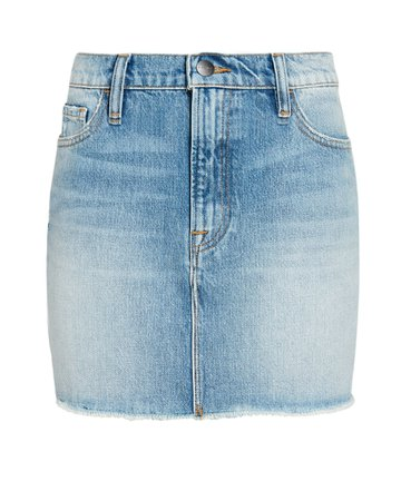 FRAME Le Mini Denim Skirt | INTERMIX®