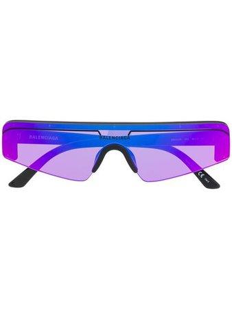 Balenciaga Eyewear rectangular ski sunglasses