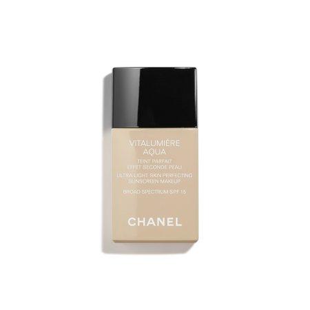 VITALUMIÈRE AQUA Ultra-Light Skin Perfecting Sunscreen Makeup Broad Spectrum SPF 15 10 - BEIGE   CHANEL