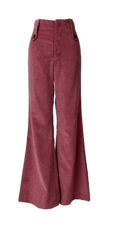 hiraeth - blush suit trousers