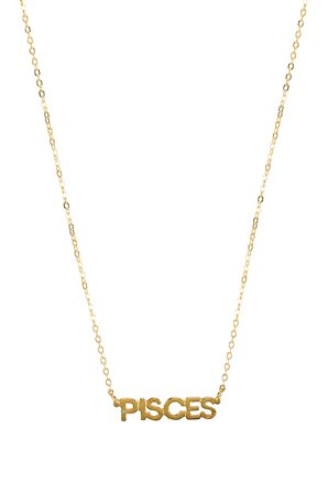 Little Zodiac Pisces Necklace