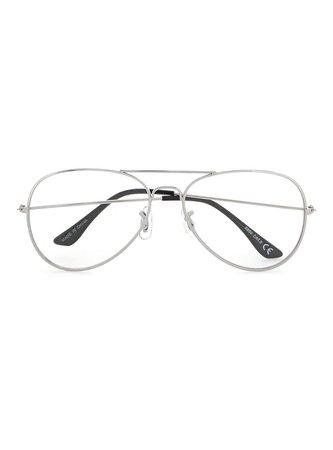 Silver Aviator Reading Glasses - Shop All Sale - Sale - TOPMAN USA
