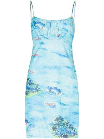 STAUD Bell Mini Dress - Farfetch
