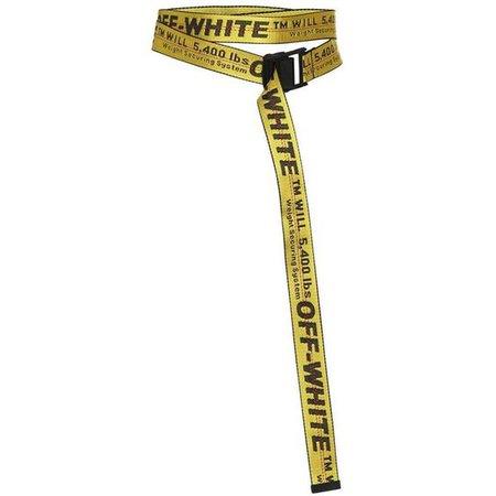 Off-White Nylon Industrial Belt