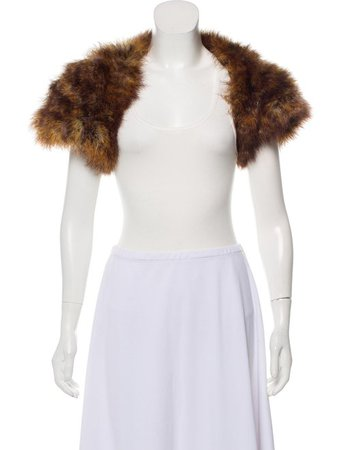 Cassin Ostrich Feather Bolero - Clothing - CSS20408 | The RealReal