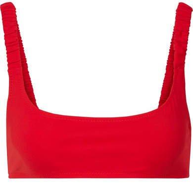 Fisch - Colombier Bikini Top - Red
