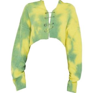 sweater top png tie die/dye
