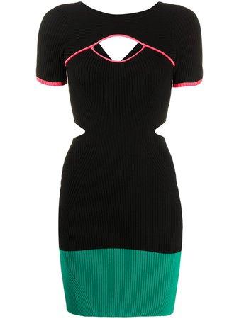 Diesel M-Bra Ribbed Knit Dress Ss20 | Farfetch.Com