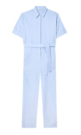 Long Oxford jumpsuit - Women's Just in | Stradivarius United States