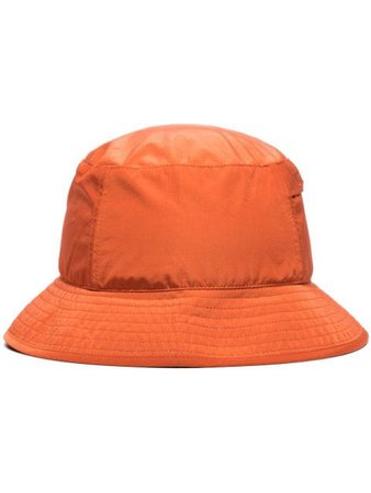 Orange C.P. Company logo-embroidered bucket hat - Farfetch
