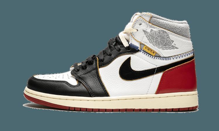 "Air Jordan 1 Retro HI ""Union - Black Toe"" - BV1300 106 - 2018"