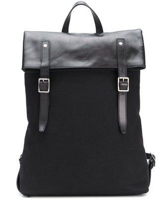 Saint Laurent Buckle Fastening Backpack - Farfetch