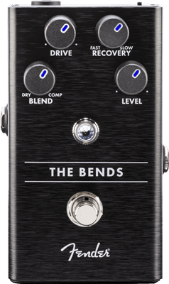 Fender Pedal The Bends Compressor Pedal Guitar