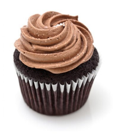 Classic Chocolate mini Cupcake (12) - CupcakeDropoff.com