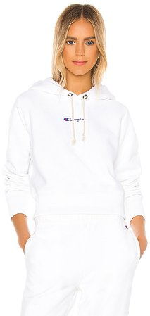 Central Script Hooded Sweatshirt